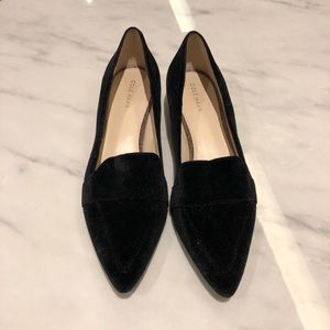 Cole Haan Velvet Loafers